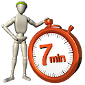 Home Workout - 7 Minute Fitness icon