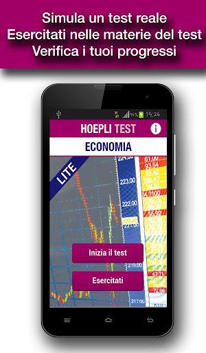 Hoepli Test Economia Lite