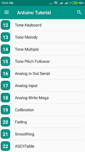 Arduino Tutorial 1.4 screenshots 2