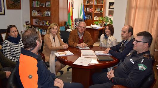 Antonio Bonilla mantuvo una reunión con las diferentes autoridades.