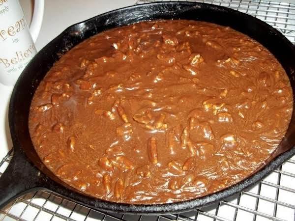 ~ Gooey Skillet Cake ~ Recipe
