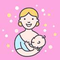Amamentação bebê alimentação icon