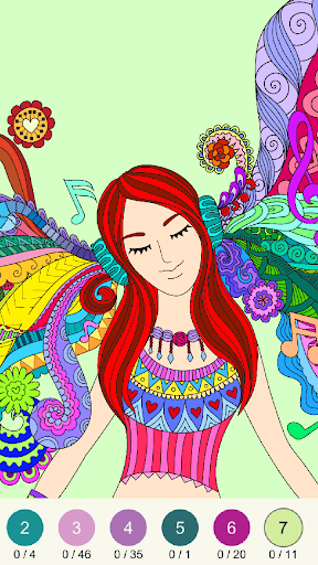 Wonder Color - Color by Number Free Coloring Book screenshots 17
