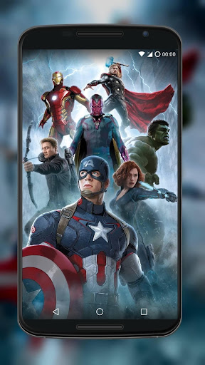 Superheroes Wallpapers 4K App Report on Mobile Action - App