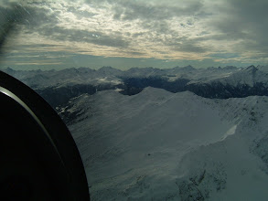 Photo: A flight over the Alps in winter is a great experience but requres good weather http://www.swiss-flight.net