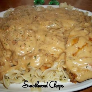 Smothered Chops / Oven or Crock Pot