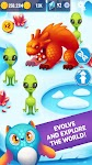 screenshot of Alien Evolution Clicker: Species Evolving