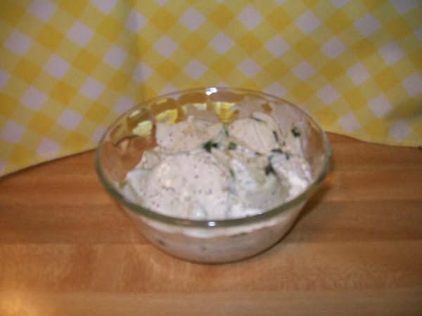 My Creamy Cucumber Salad Recipe