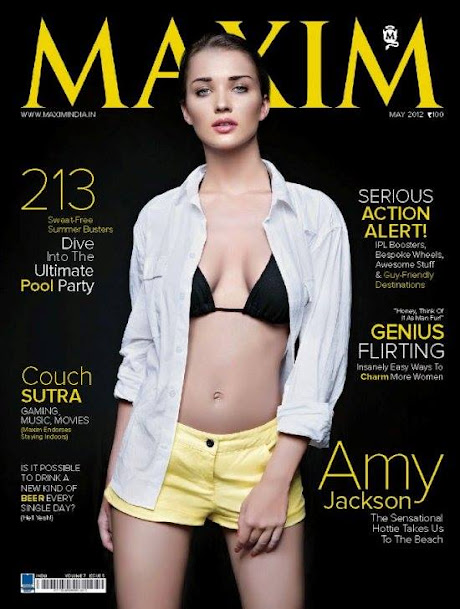 Amy Jackson Maxim Photoshoot