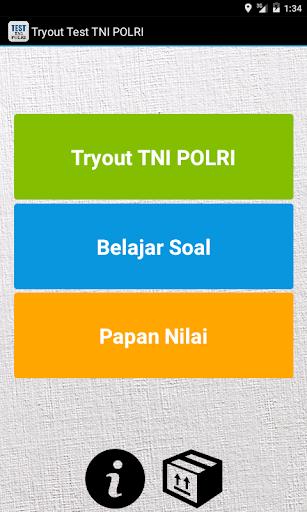 Tryout Test TNI POLRI
