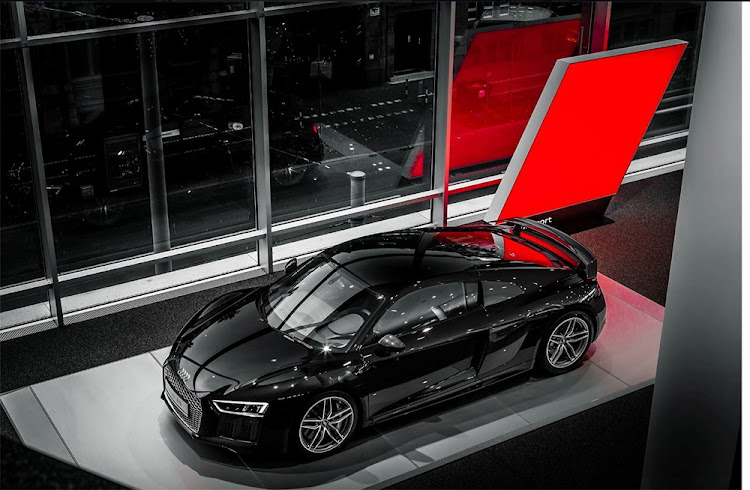 Pure power: the Audi R8