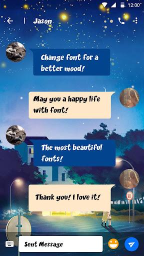Comic Light Font for FlipFont,Cool Fonts Text Free screenshots 2