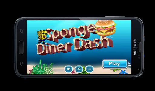 Sponge Underwater Dinner Dash