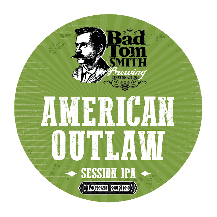 Logo of Bad Tom Smith American Outlaw Session IPA