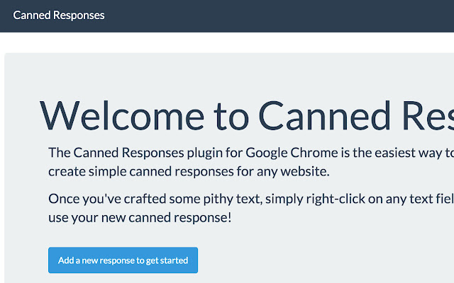 Canned Responses for Google Inbox™ and Gmail™