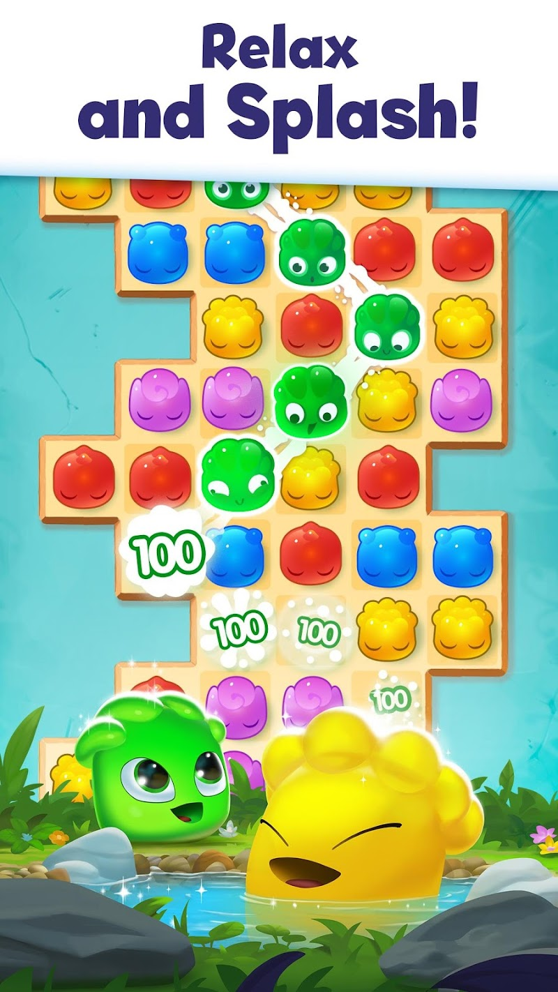 Jelly Splash Match 3: Connect Three in a Row Screenshot 1