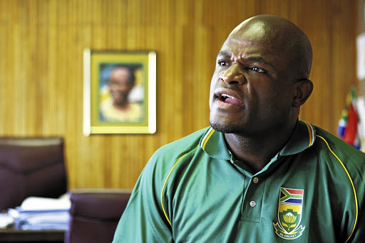 ANC Northern Cape chairman Zamani Saul. Picture: SUNDAY TIMES