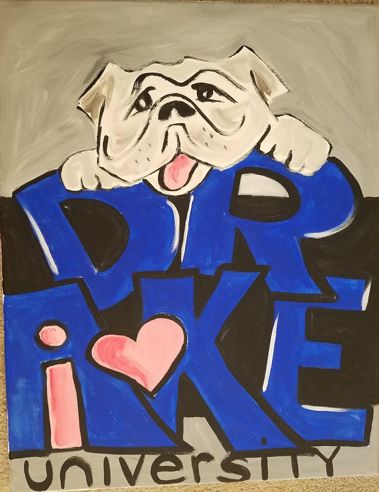 Griff the Bulldog mascot