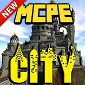 Silverhills city map for MCPE