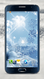 Snowflake Live Wallpaper screenshot 0