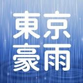 東京のゲリラ豪雨レーダー