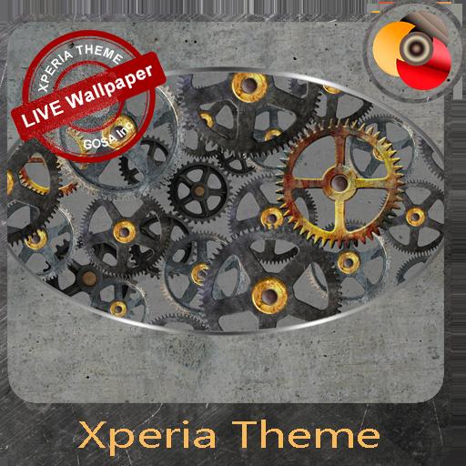 Rotating gears | Xperia™ Theme