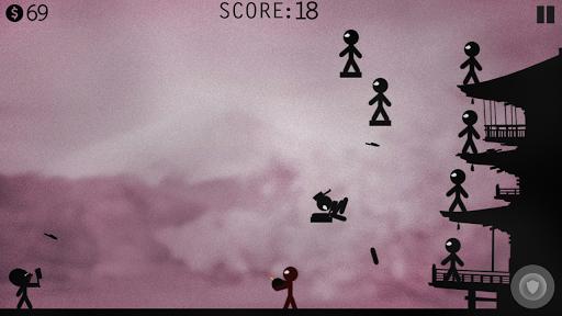 Stickman Battle - Knife Hit! apkpoly screenshots 3