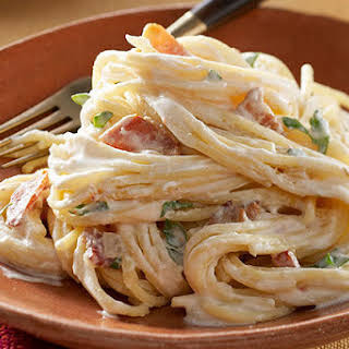 Spaghetti Carbonara Without Eggs Recipes.