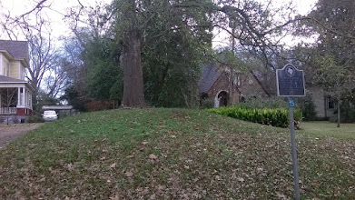 Photo: Nacogdoches ancient Native American mound on Mound St.