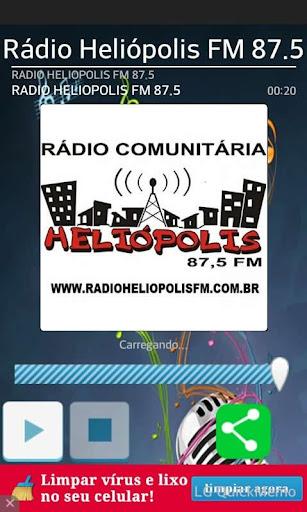 Rádio Heliópolis FM 87.5 screenshot 1