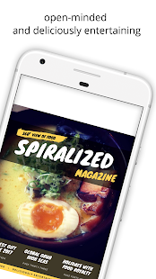 Spiralized Magazine- screenshot thumbnail