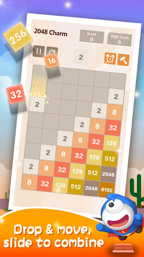 2048 Charm: Classic & Free, Number Puzzle Game 4.6501 screenshots 4