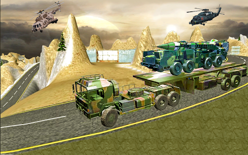 Off-Road Cargo Truck Driving 3D - náhled