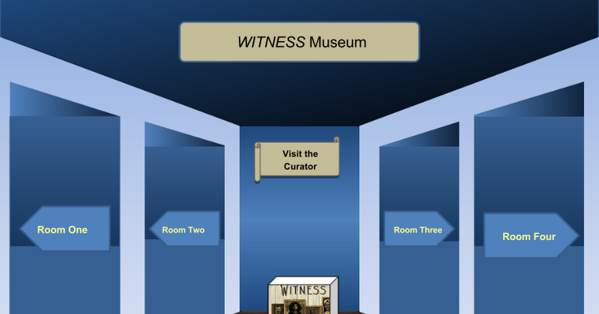 witness virtual museum - google slides, Presentation templates