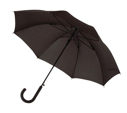 Automatic Windproof Umbrella in Light Blue