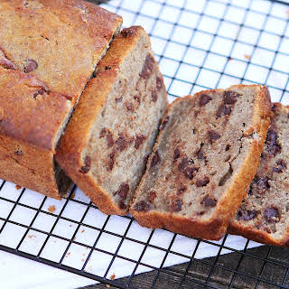 Lentil Chocolate Chip Banana Bread.