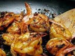 Pan Seared Shrimp