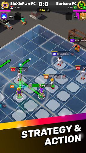 football tactics arena: turn-based soccer strategy screenshot 1