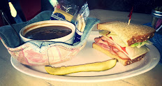 Cup of Soup and Half Deli Sandwich