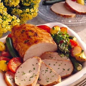 Herb-Cured Grilled Pork Roast