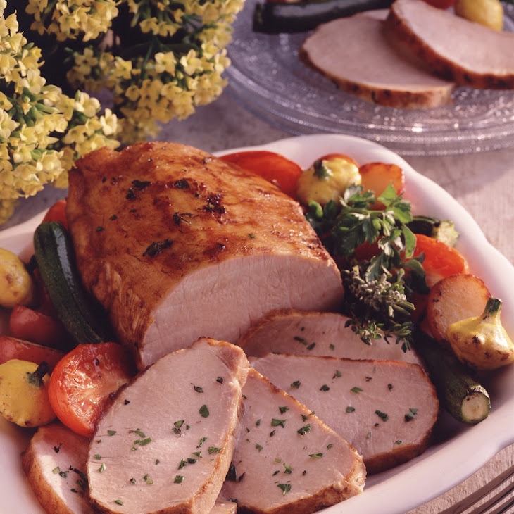 Herb-Cured Grilled Pork Roast Recipe