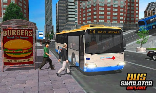 Bus Simulator 2017-Free Game - náhled