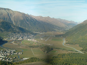 Photo: The Engadin Airport and Samedan http://www.swiss-flight.net