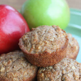 Applesauce Oat Muffins.