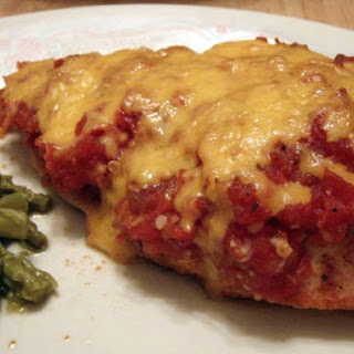 Low Carb Mexican Baked Chicken.
