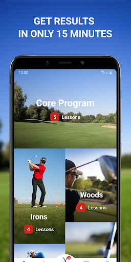 15 Minute Golf Coach - Video Lessons and Pro Tips screenshots 1