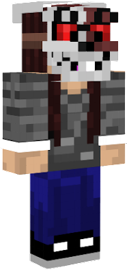 After I uploaded the first one I realized I could update it more so I updated it by making it slim and also removing the tongue from the skin because it did not look good. Feel free to edit but please credit the original creator aka MysteryShadowPro/me if you will edit it.