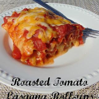 Roasted Tomato Lasagna Roll-ups