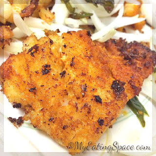 Spicy Ginger Garlic Fish Fry