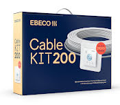 Ebeco Cable Kit 200 2080W / 187m (13-27,7 m²)